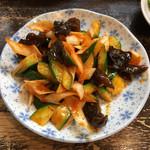 好麺 - 上海胡瓜  見た目ほど辛くなくむしろ甘い