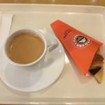 サンマルクカフェ - チョコクロとブレンドM