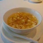 家全七福酒家 SEVENTH SON RESTAURANT - 本日のスープ 海鮮と豆腐のとろみのあるスープ