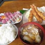 魚作 - 黙っておまかせ定食 1800円 (^^