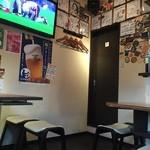 choice - サッカーを楽しみながら、お酒もすすみます。