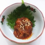 海鮮づくし丼丸 - 帆立チャンジャ