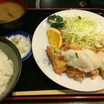 とり安 - チキンタツタ 甘酢おろし