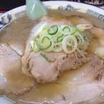 たかはし中華そば店 - チャーシュー麺