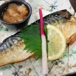 さくら - 料理写真:焼き鯖定食でした。