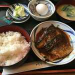 小料理 筑波 - サバ味噌煮定食850円