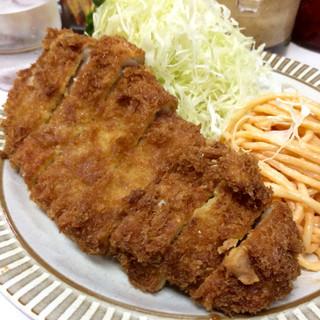キッチン南海 神保町店 - ロースカツランチ