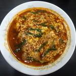 元祖 辛麺屋 桝元 - 料理写真:元祖辛麺3辛中華麺