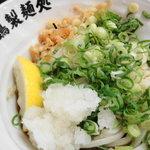 朝打ちうどん 大鶴製麺処 - ぶっかけ350円