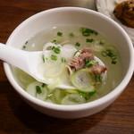 牛タン圭助 - スープ