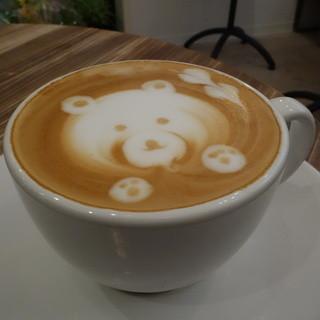 ロカ コーヒー - ドリンク写真:☆LATTEはキュートです(●^o^●)☆