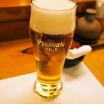 幸楽 - 生ビール