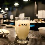 ひつじやジンギスカン - ■マッコリ グラス 300円