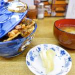 天ぷら 中山 - 天丼セット