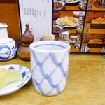 天ぷら 中山 - 卓上
