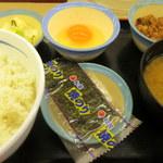 松屋 - 料理写真:朝定食360円