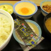 松屋-朝定食360円