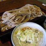 きこり - B定食 上段(蕎麦 大盛)