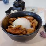 ほのか - さくら豚丼(ハーフ、510円)