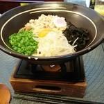 釜玉屋 - 釜玉ラーメン 味噌 800円