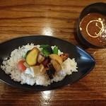 骨だしカレー 片岡屋 - 三島野菜カレー ¥850(税別)