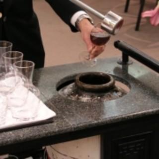 菜香新館 - ドリンク写真:人気の甕出し紹興酒