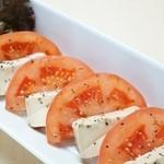 きたろう - トマトとクリームチーズのカプレーゼ