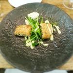 モルソー - モルソーコロッケ フロマージュテッドとレンズ豆