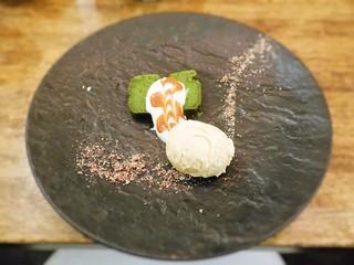 モルソー - 抹茶とホワイトチョコレートのガトーショコラ