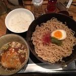 47335815 - つけ麺セット\700税込(2016/01)