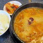 金泉 - カムジャタン&ライス&キムチ