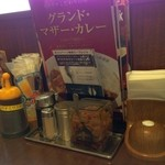 CoCo壱番屋 - H.28.2.10.昼 調味料類など