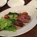 HANA  - 和牛フィレステーキ  ¥1480