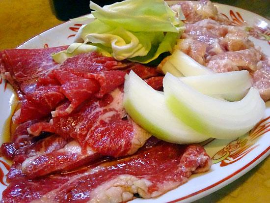 焼肉 えぐち - 牛カルビ750円