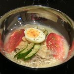 おんまらん - 水冷麺(牛汁スープ)
