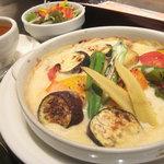 洋食家ロンシャン - 夏野菜とマカロニのグラタン (ランチ)