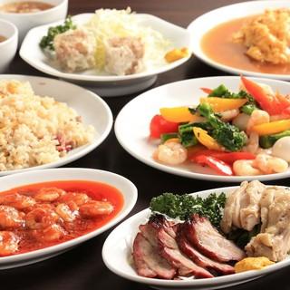 職人による1つひとつ手造りの中華料理