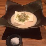 47341147 - 葱たっぷり 美人豆腐