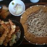 47343827 - ランチ天丼蕎麦セット