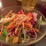 モンスーンカフェ - ランチセットのサラダ