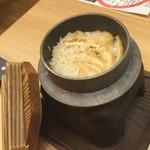 健康美食 豆の花 - 【季節の釜飯】具はほぼ薄揚げでした△