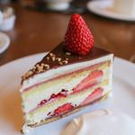 イロドリ - ストロベリーショートケーキチョコレートがけ 冬季のみ☆