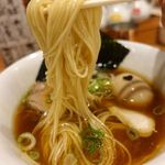 麺や食堂 - 味玉そば 800円+税