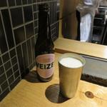 焼鳥 市松 - 瓶ビール