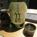 焼鳥 市松 - 日本酒2