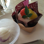 コットンバニー - あすか 400円  イートインにはアイスが付きます(^_^)v