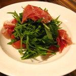 Vineria h - 鷹峯の野菜とノルチャ産生ハムのサラダ