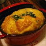 Vineria h - 百合根とプロボローネチーズのスフレ