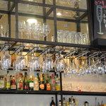 オステリア・ド・イタリア オリーブ - グラスがたくさん