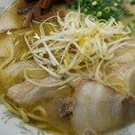 栄養軒 - Wデラ:780円は麺とチャーシュのダブル増しデラックス!!